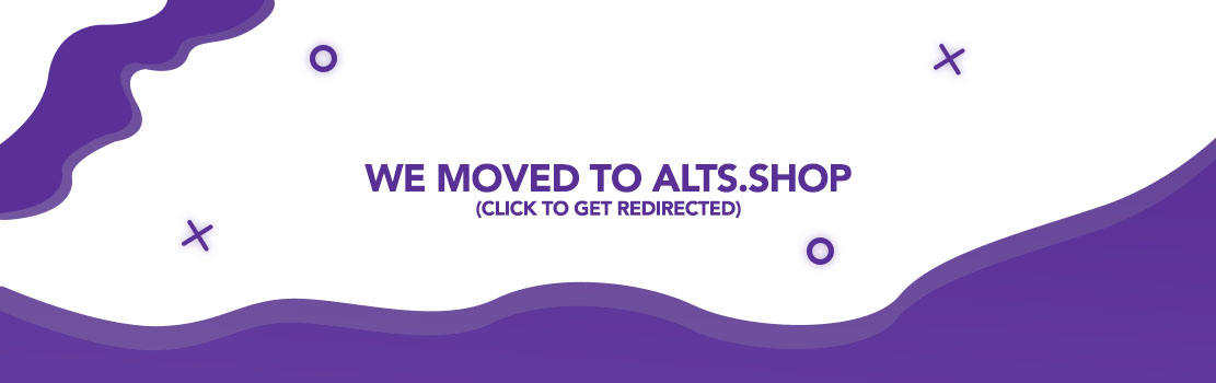 Click to get redirected to alts.shop!